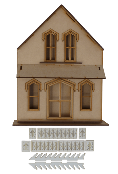 Pequot Cottage (Shadow Box)